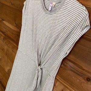 Alya Stripe Mini Dress